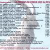 CD LA SUISSE AU COEUR DES ALPES verso